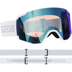 Salomon S/View Photo Gafas, blanco/azul